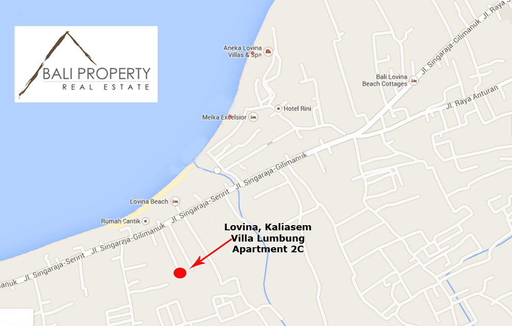 lovina property office street map