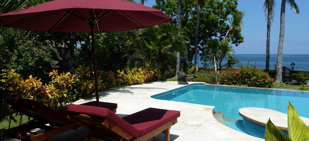North Bali beachfront villa for sale NW-V004