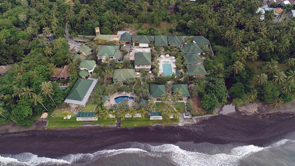 bali hotel by the sea