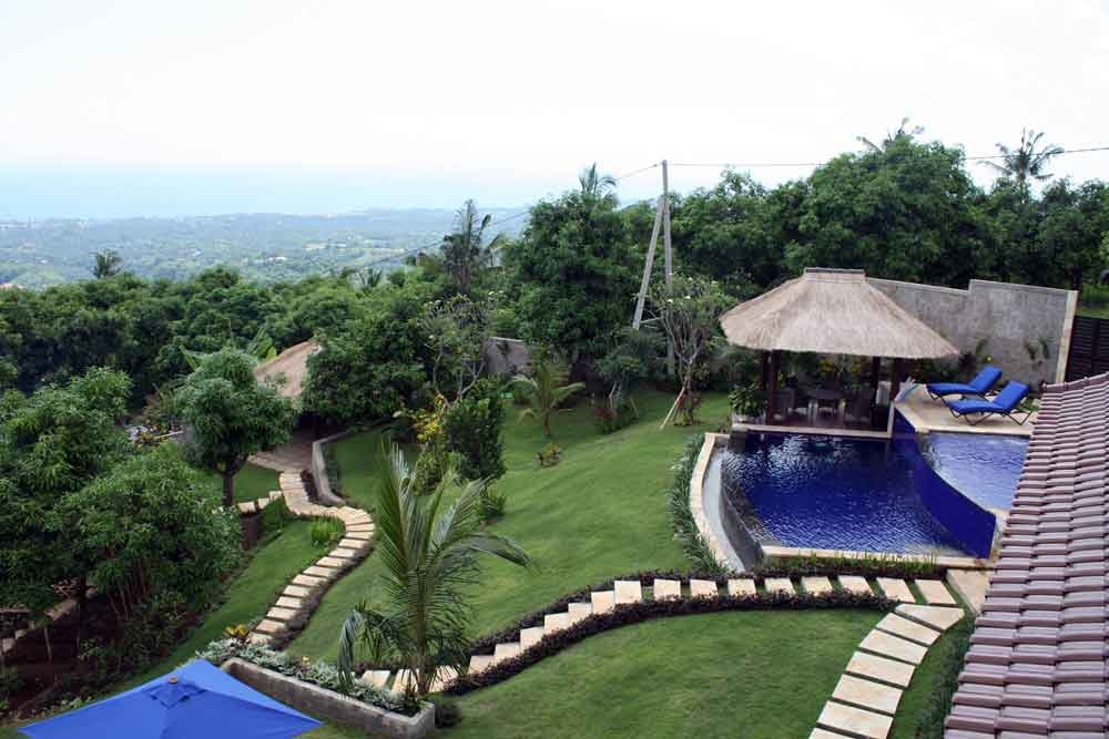 Bali villa for sale – North Bali hillside villa with ocean view NB-V041