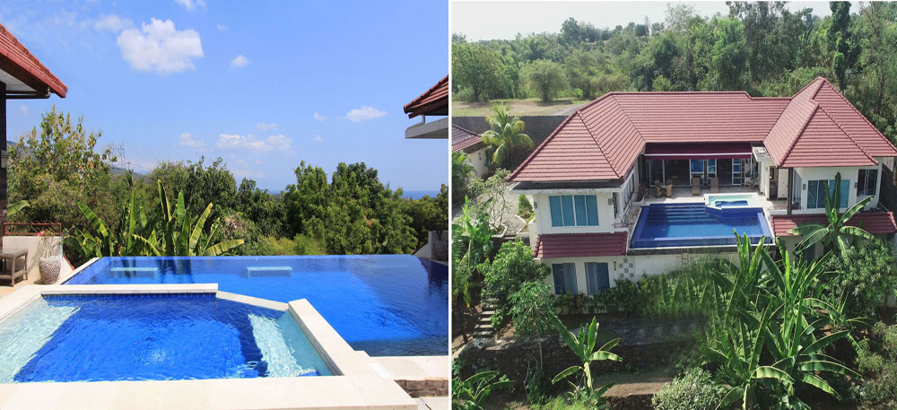Bali sea view villa for sale NB-V031