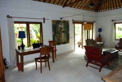 north east bali beach villa for sale living