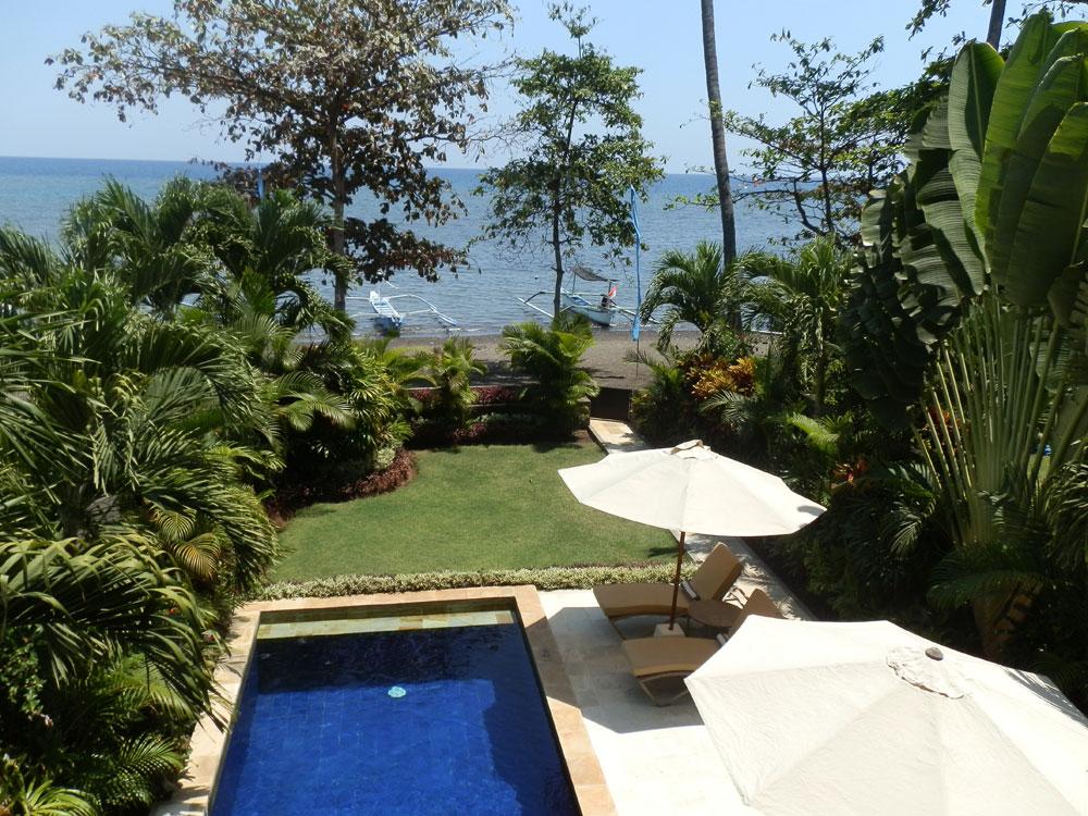 Bali 2 bedroom beachfront villa for sale NB-V065