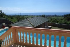 north bali hillside villa with sea view for sale