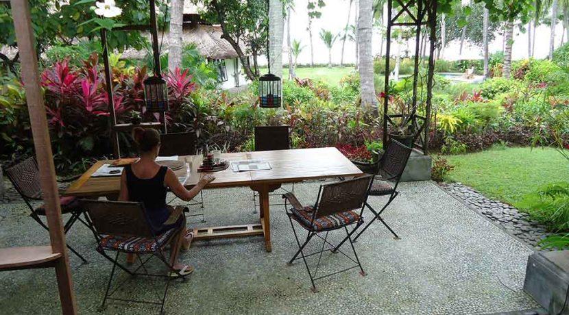 north east bali beach villa for sale master guest terrace