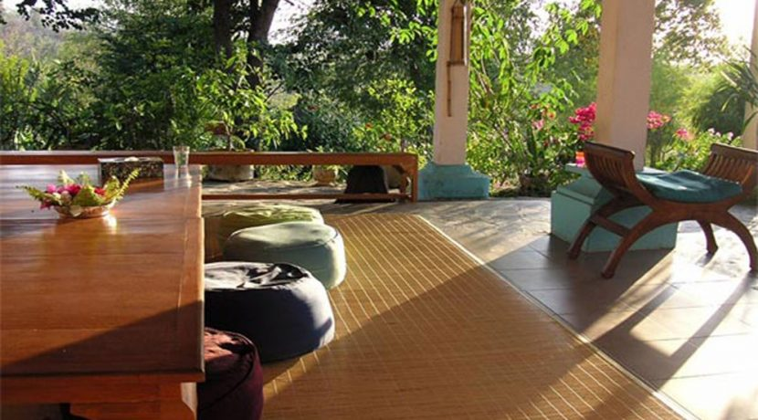 hotel for sale lovina bali terrace-living