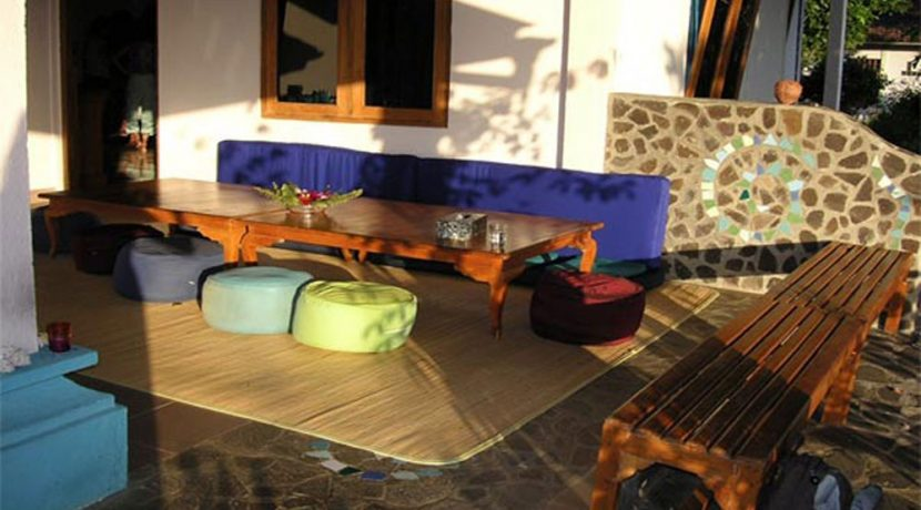 hotel for sale lovina bali terrace-lounge