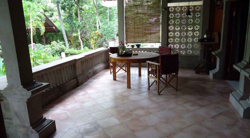 north east bali beach villa for sale terrace