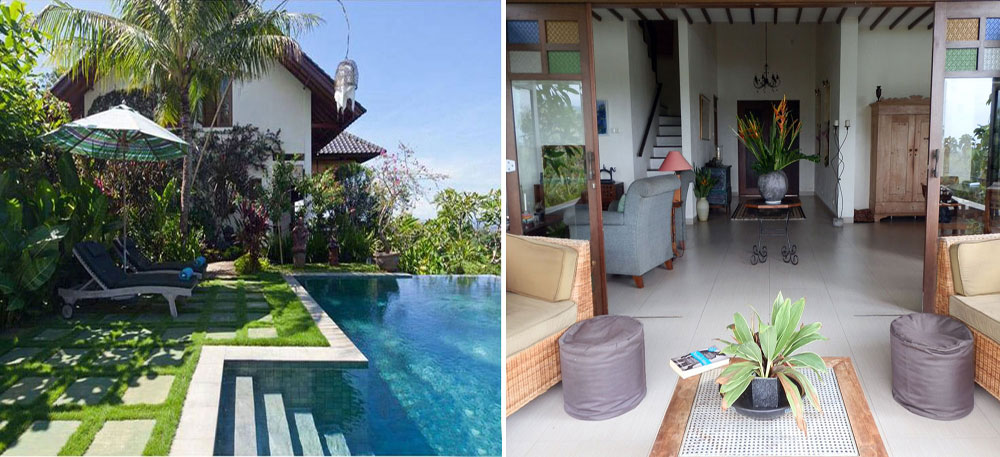 Bali ocean view villa for sale NB-V076