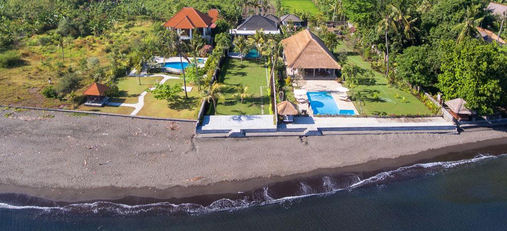 Bali beachfront villa for sale NB-V077 with private pool
