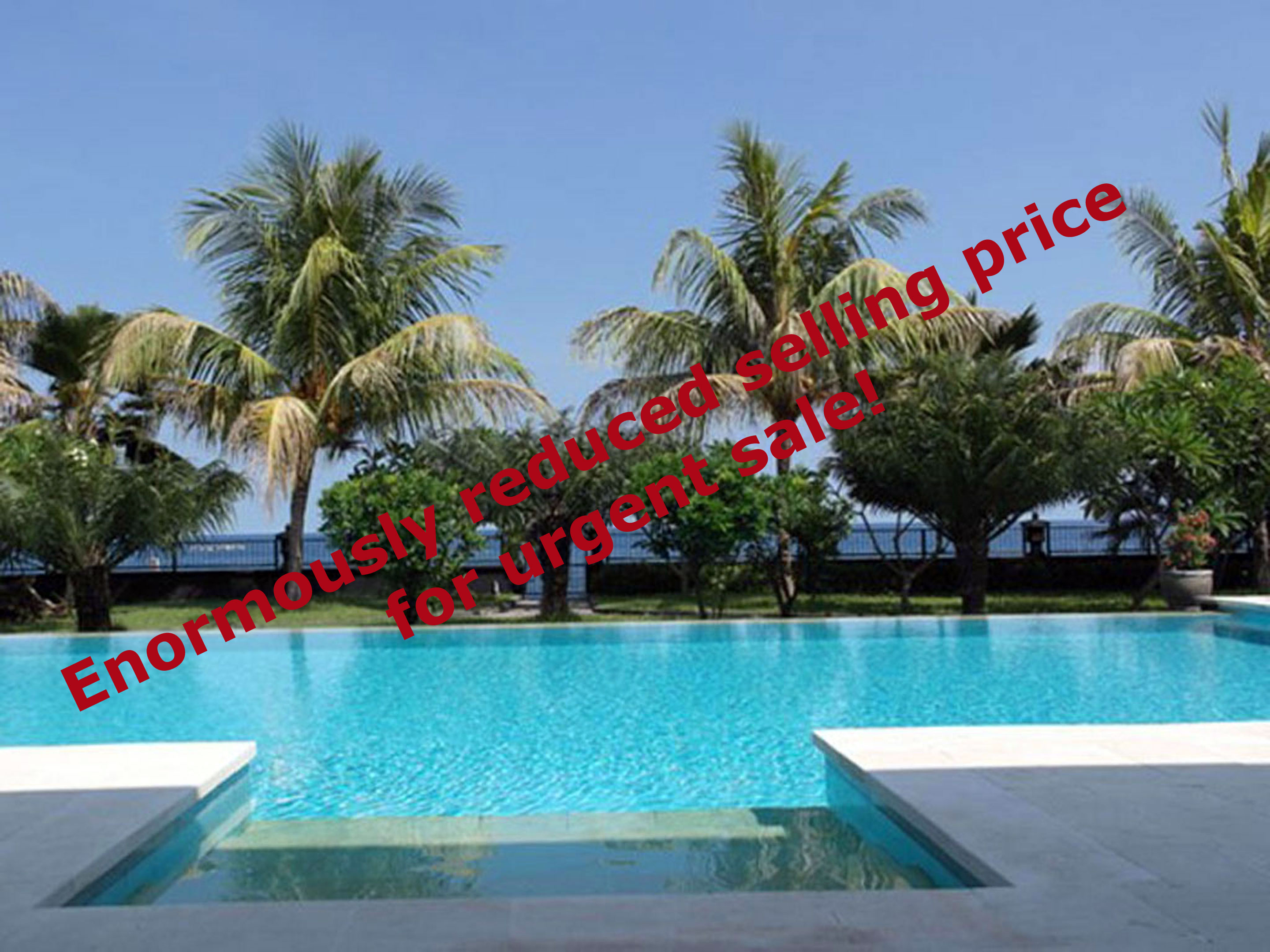 Bali oceanfront villa for sale NW-V001 – reduced selling price!