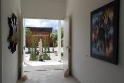 bali oceanfront villa for sale entrance