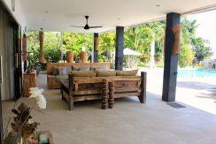 bali beachfront villa for sale terrace