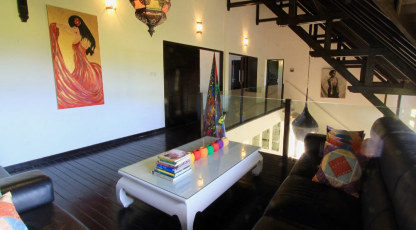 bali beachfront villa for sale lounge