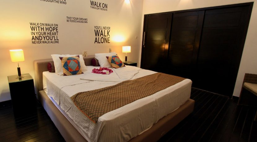 bali beachfront villa for sale guest bedroom