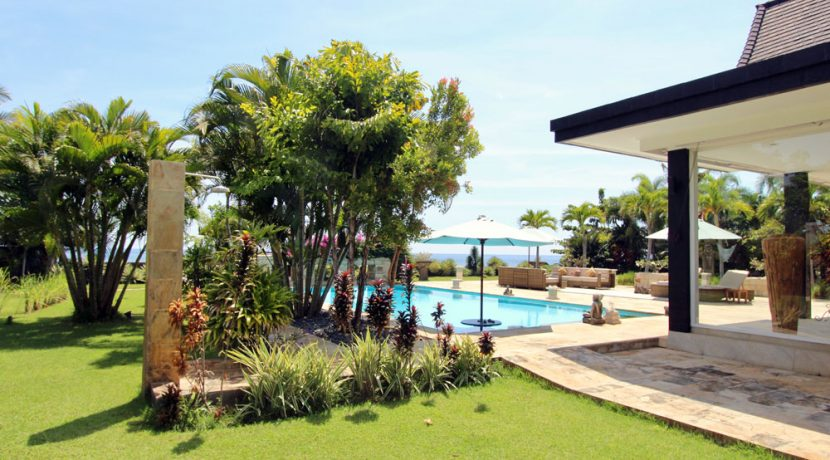 bali beachfront villa for sale pool outdoor shower