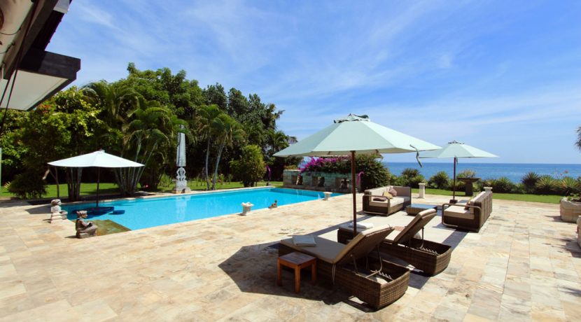 bali beachfront villa for sale pooldeck