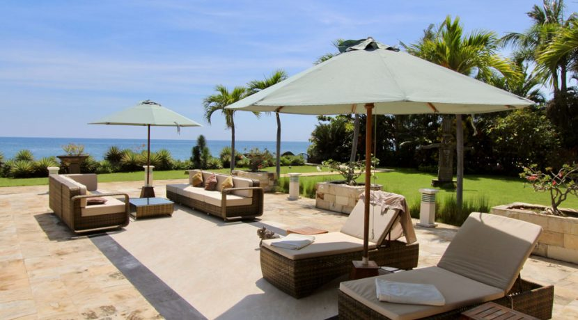 bali beachfront villa for sale sundeck