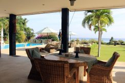 bali beachfront villa for sale terrace