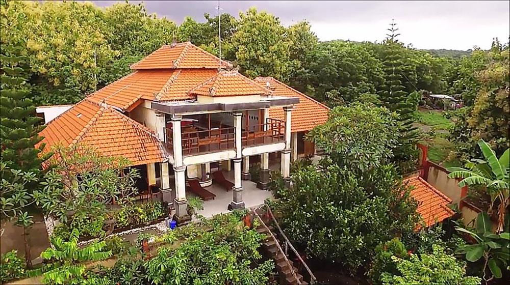 Bali sea view villa for sale – hillside North-East Bali