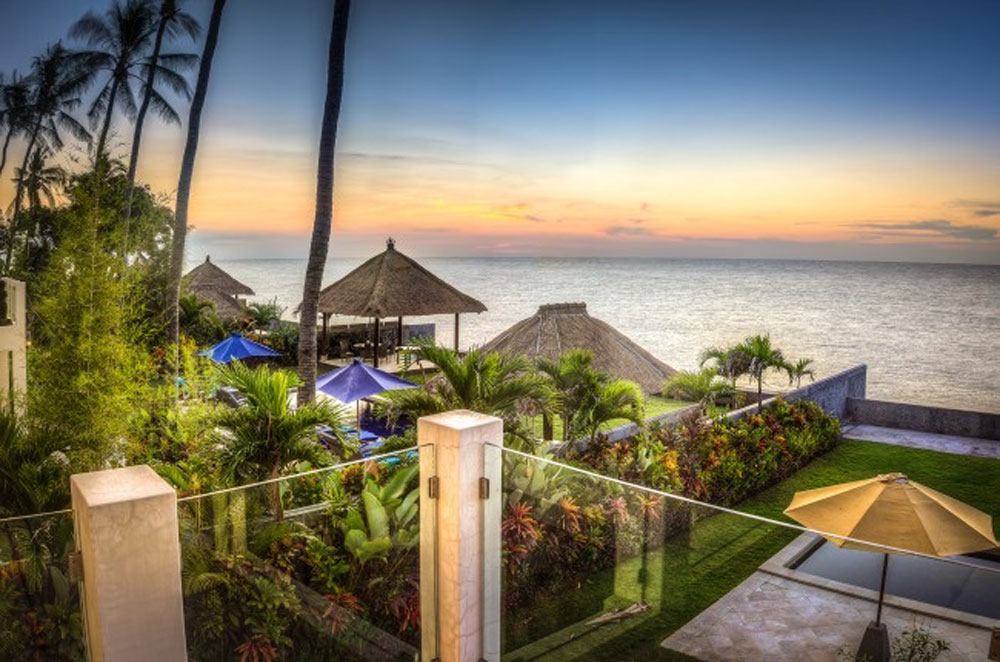 Bali ocean front villa – for sale