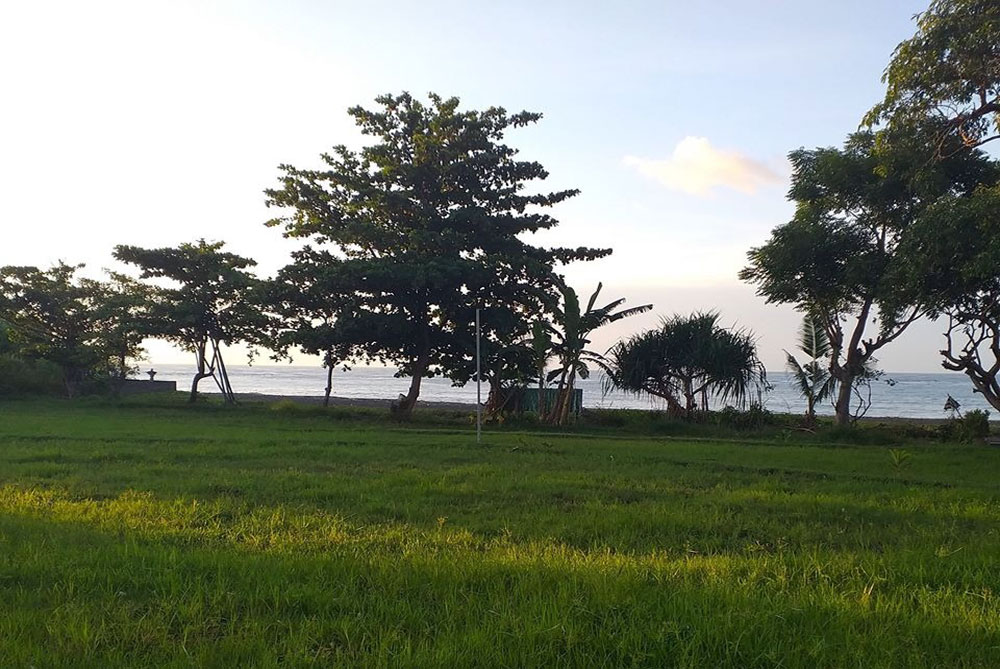 Bali beachfront land for sale – North, North West Bali