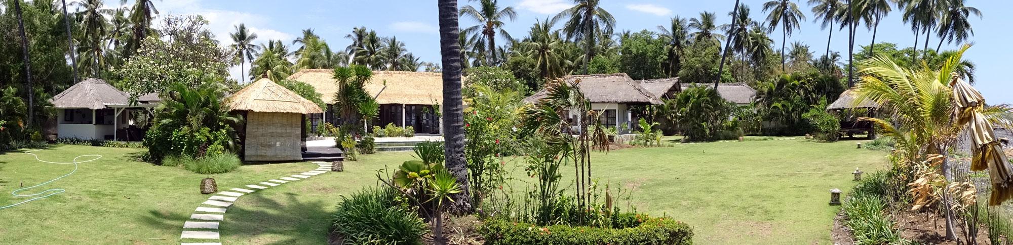 bali ocean front villa for sale