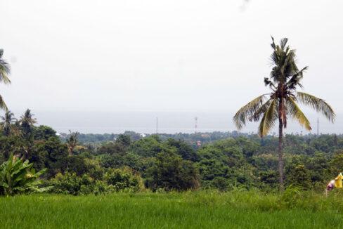 bali ocean view land