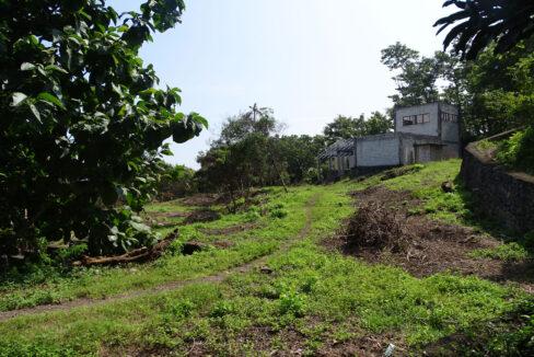 Bali hillside ocean view land